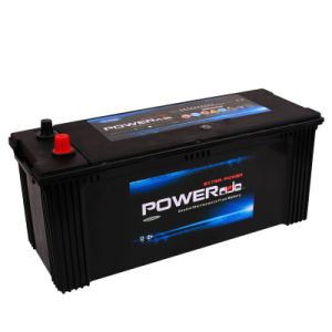 JIS Mf N120-12V120ah Car Battery with RoHS/CE/Soncap