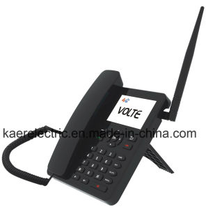 Android Volte 4G WCDMA GSM with WiFi Hotspot Desktop Phone pictures & photos