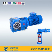 K Series 90 Degree Gear Speed Reducer Reductor with Motor Bevel Gear Reducer pictures & photos