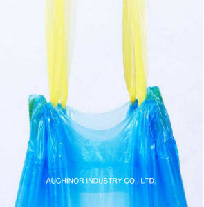 High Quality Custom Printed Trash Bags Flat Colorful Biodegradable Garbage Bags pictures & photos