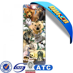 Plastic Lenticular Animals 3D Bookmarks pictures & photos