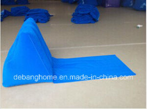 PVC Flocked Inflatable Air Cushion Pillow (MG-KD001) pictures & photos