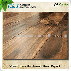Short Leaf Acacia Hardwood Flooring pictures & photos