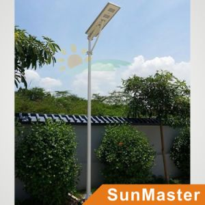 60W LED 60wsolar Panel Integrated Solar Street Light All-in-One Solar LED Street Lamp pictures & photos