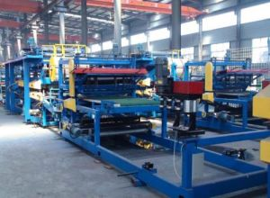 PU Cangzhou Botou Sandwich Panel Press Forming PU Machine pictures & photos