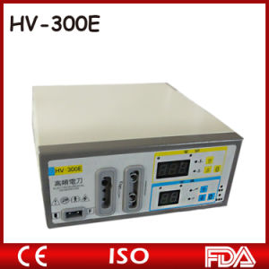 Economical High Frequency Cautery Unit of 100watts High Qualified Diathermy Machine pictures & photos