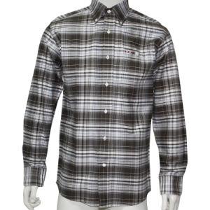 Man Oxford Shirt with Big Check and Emb HD0030