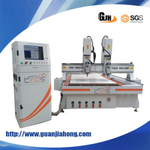 2025-2 Dual-Spindle, Wood, Acrylic, Aluminum, Plastic, CNC Router pictures & photos