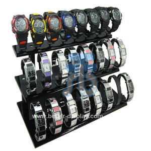 Wrist Watch Display Stand in Black Color Btr-F1001 pictures & photos