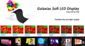 Flexible LED Display Galaxias for Stage Show pictures & photos