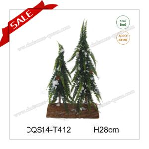 34cm High Quality Decorative Plastic Christmas Tree Decoration pictures & photos