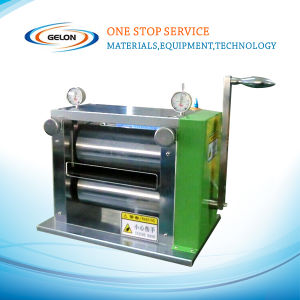 Lithium Battery Manual Rolling/Pressing Machine for Electrode Pressing (GN-SG-100) pictures & photos