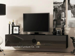 New Design Special TV Cabinet with High Gloss (HHTV05) pictures & photos