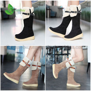 2015 Super Thick Warm Woman′s Over The Knee Snow Boots