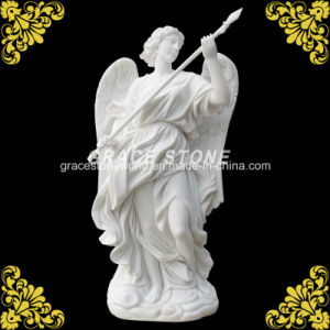 Carved Stone Statue with Wing pictures & photos