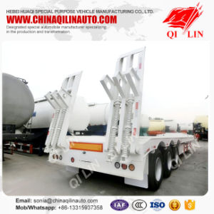 Low Bed Semitrailer Semi-Trailer Trailer Truck Trailer pictures & photos