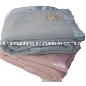 Woven Woolen 100%Wool Hotel Blanket pictures & photos