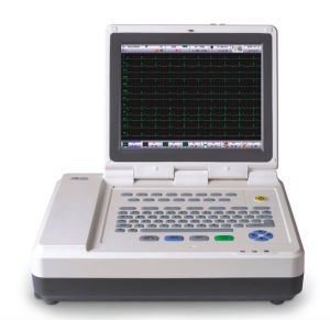 Twelve Channel Electrocardiograph ECG Machine with Ce Approved pictures & photos