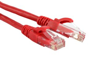 CE/RoHS Approved Cat5e Patch Cable pictures & photos
