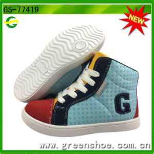 Nice-Looking Children Breathable No Lace Casual Chinese Shoe Wholesalers pictures & photos