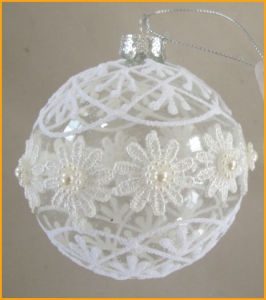 Clear Customized Christmas Glass Ball Ornaments pictures & photos