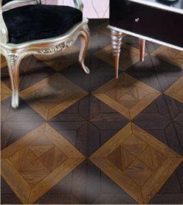China Good Quality Wood Mosaic Flooring Oak Parquet
