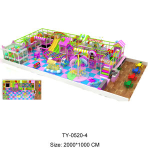 Hot Sale Small Indoor Playground (TY-0520-4) pictures & photos