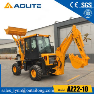 Small Backhoe Loader, Backhoe China Loader with Low Prices pictures & photos