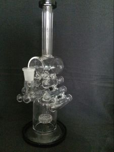 Glass Water Pipe with Water Recycler-China Manufacturer Safety and Fast Delivery pictures & photos