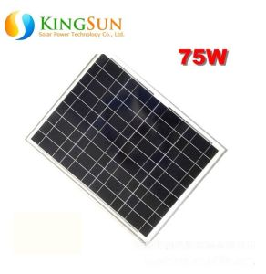 75W Small Power Poly-Crystalline Silicon Solar Panel Module/Poly Solar Panel pictures & photos