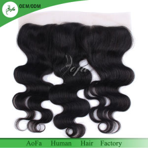 Brazilian Virgin Hair Lace Frontal Pieces Ear to Ear Lace Frontal Closure pictures & photos
