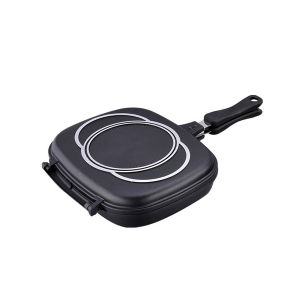 2014 Hot Sale Die Casting Double Fry Pan pictures & photos