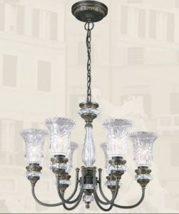Navona Alloy Crystal European Chandelier Light