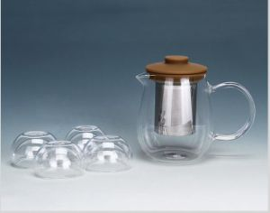Heat Resistant High Borosilicate Glass Tea Cup for Gifts pictures & photos