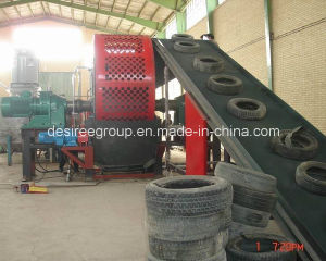 Whole Scrap Tire Cracking Machinery