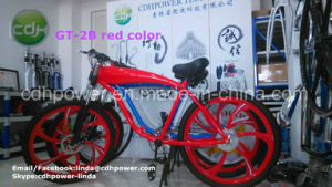Black Color Racing Bike, Cdhpower Motorized Bicycle, Fuel Gasoline Engine Kits Bicycle 26 Inch Mag Wheel Bicycle pictures & photos