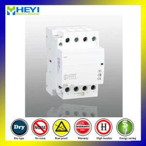 Household Domestic Classic Type AC Contactor 4p 230V 50Hz 63A 2nc 2no Electrical Type pictures & photos