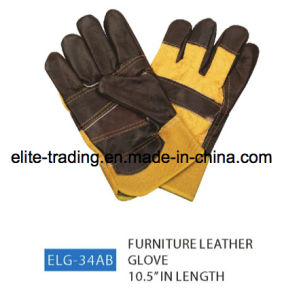 Furniture Leather Industrial Safety Working Gloves