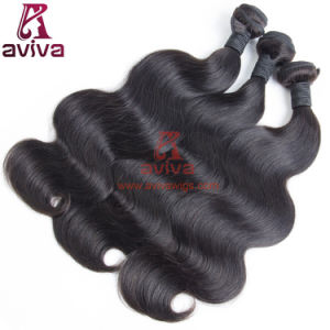 Top Quality Natural Indian Body Wave Virgin Hair pictures & photos