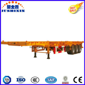 40t Container Semi-Trailer/ Utility Skeleton Semi Truck Trailer pictures & photos