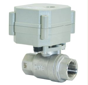 2way 1/5′′ Min Electic Motorized Control Ball Valve pictures & photos
