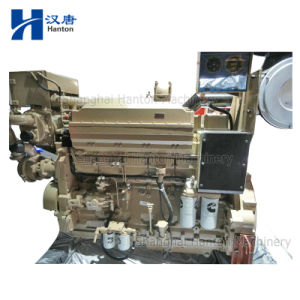 Cummins KTA19-DM marine diesel motor engine with alternator for generator set pictures & photos