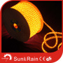 FLAT 3WIRES MULTICOLOR WTERPROOF AND INSIDEUSE LED ROPE LIGHT pictures & photos