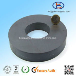 D140xd60X20 Y30bh High Quality Ring Shape Anisotropic Ferrite Magnet pictures & photos