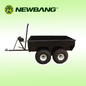 ATV Trailer with Manual Tip Winch 4 Wheels pictures & photos