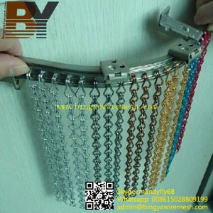 Aluminum Fly Screens Chain Link Door Curtains pictures & photos