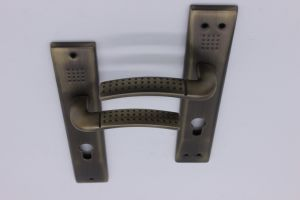 Aluminum Door Handle on Iron Plate pictures & photos