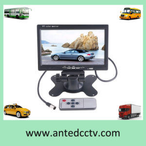7 Inch TFT LCD Monitor for Car, Bus, Vehicle, Truck, Taxi CCTV Security Video System pictures & photos