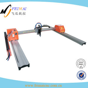 Portable Gantry Aluminum Automatic Plasma Gas Cutting Machine pictures & photos