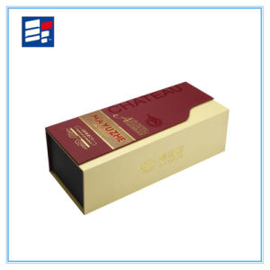 High Quality Fashionable Paper Wine Packaging Gift Box pictures & photos